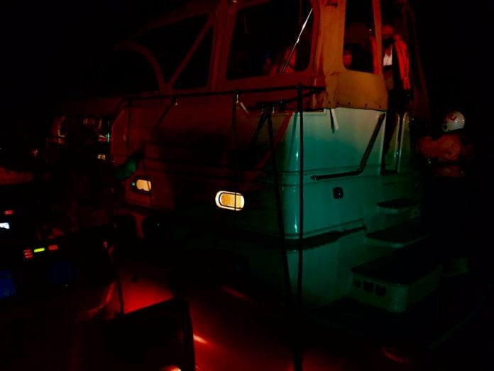 Galway Daily news Lough Derg RNLI lifeboat rescues yacht that ran aground by Silver Islands at night