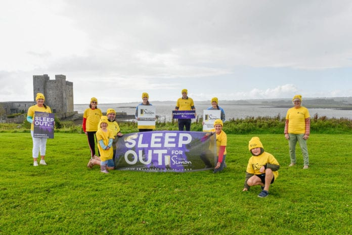 Sleepout for Simon Oranmore GALWAY DAILY NEWS