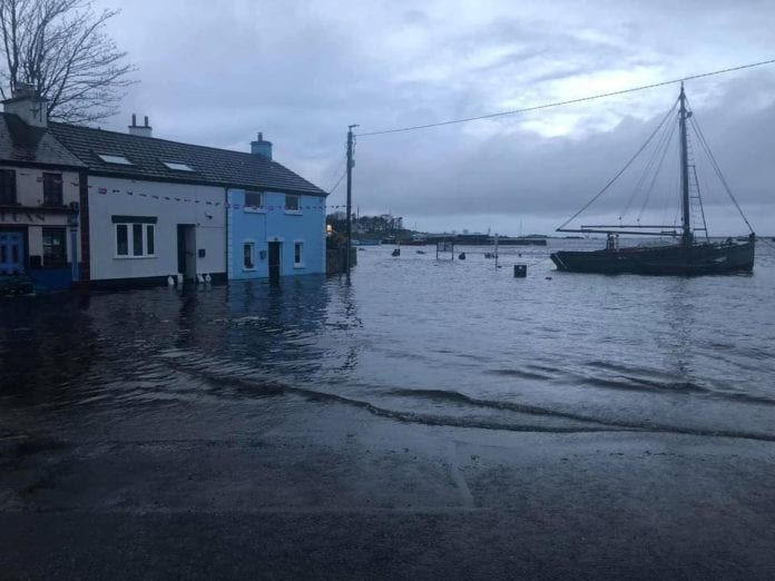 Galway Daily news Kinvara to receive €40k for flood defence barriers