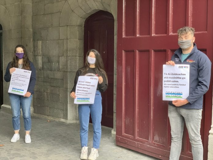galway daily news students union nui galway fees letter