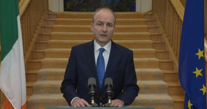 Galway Daily news Taoiseach confirms range of Level 5 lockdown restrictions