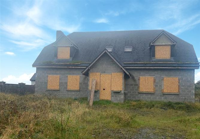 Galway Daily property Partially constructed country house skips half the work on building a home