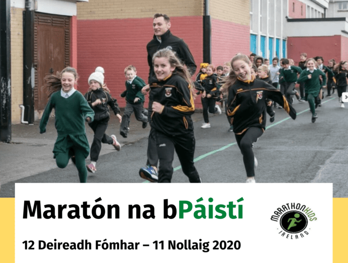 Galway Daily sport Gaeltacht schools marathon