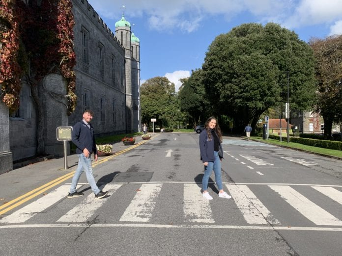 galway daily news walktober students union nuig