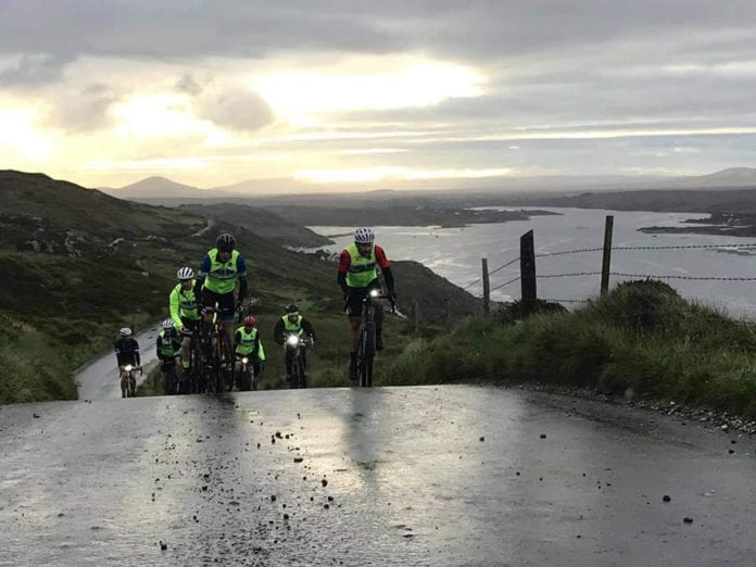 Galway Daily news Connemara cyclists raise over €4,000 for Clifden RNLI
