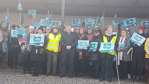 Galway Daily news Galway TD backs school secretaries fight for equal pay