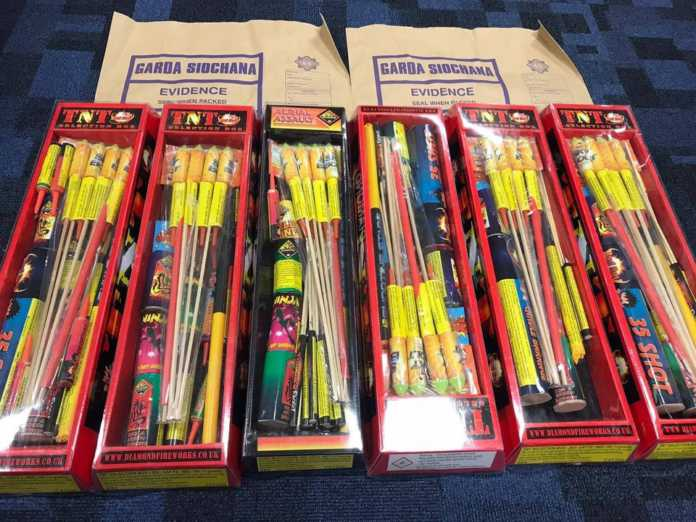 Gardaí cracking down on sale and supply of fireworks