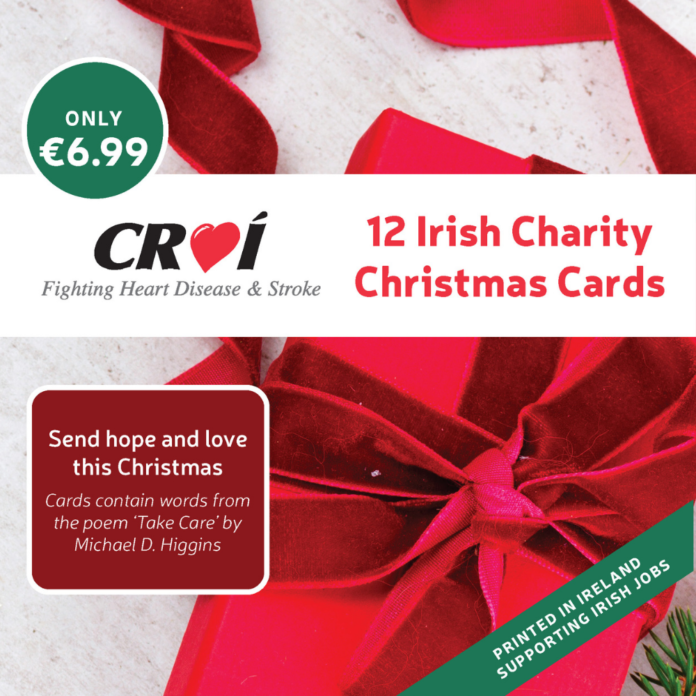 galway daily news croí heart and stroke charity christmas cards