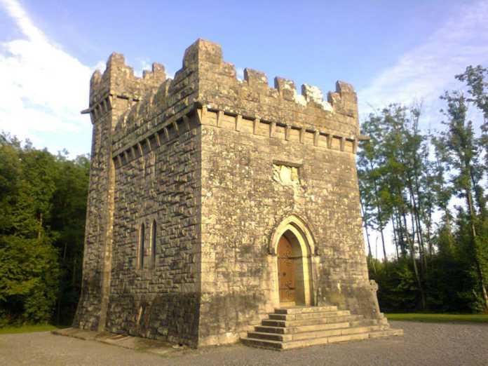 Galway Daily news Historic Monivea mausoleum victim of serious vandalism