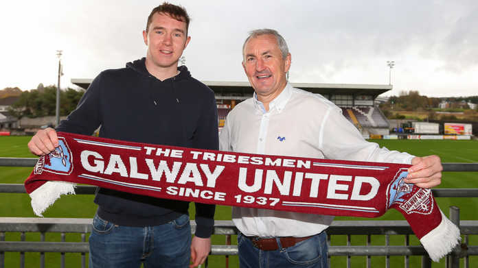 Galway United signs the returning Padraic Cunningham