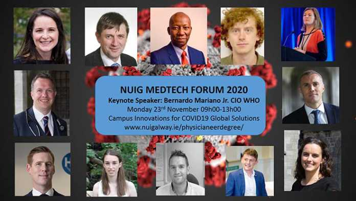 Galway Daily news WHO Chief Information Officer headlining NUIG medtech forum