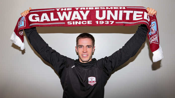 Galway Daily soccer Maurice Nugent signs new contract with Galway United