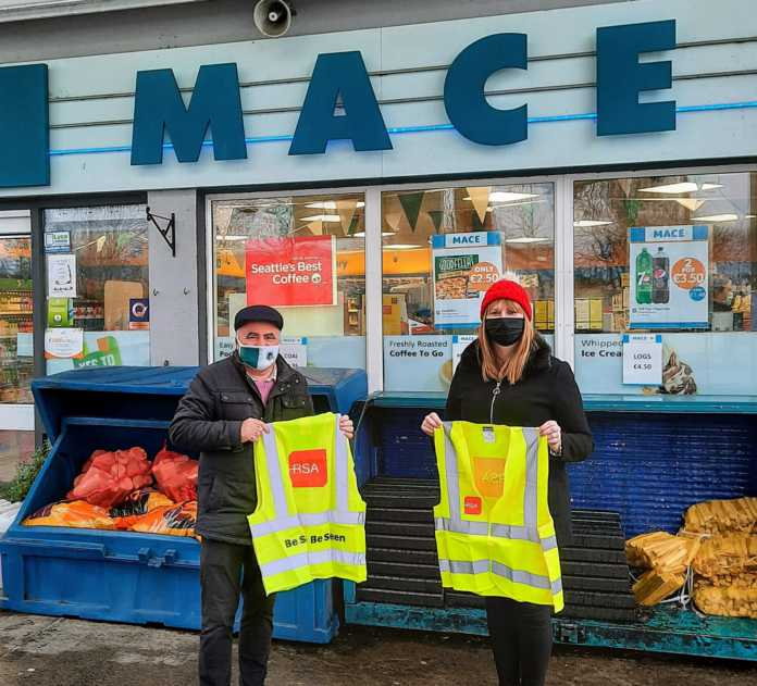 Galway Daily news County Council and Oughterard shops work together on road safety campaign
