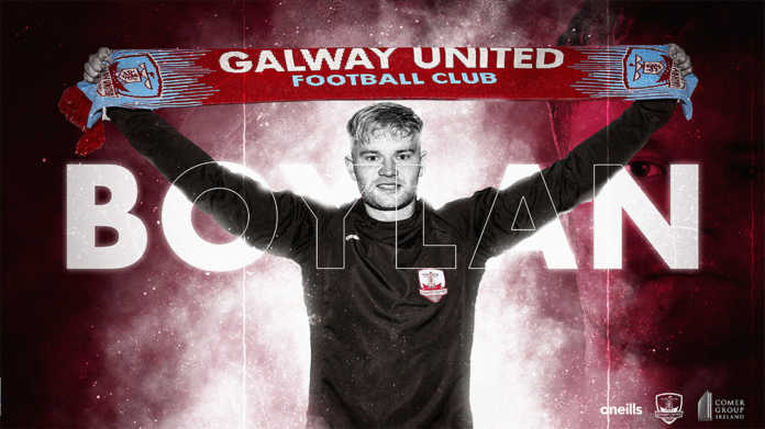 galway daily news soccer galway united sign gary boylan