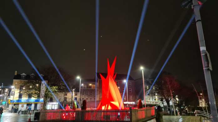 Galway Daily news Christmas lights ring in the holiday season in Eyre Square