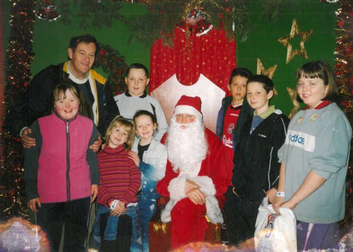 galway daily news rnag santa christmas galway connemara