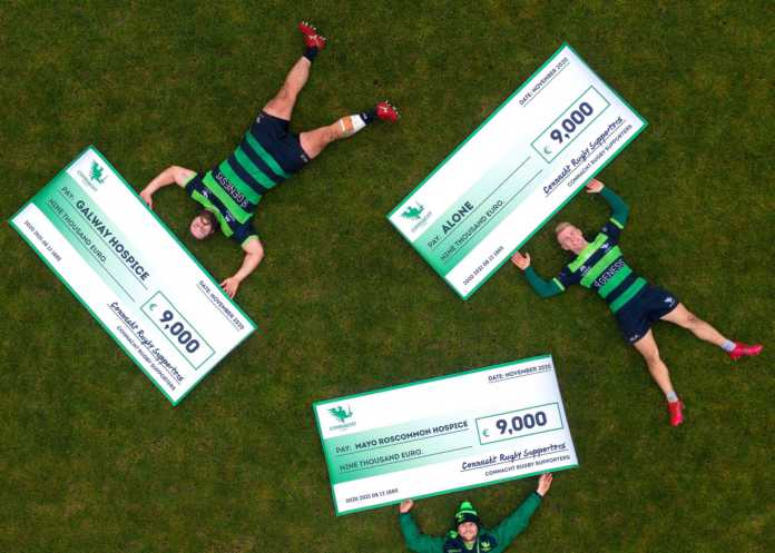 Galway Daily sport Connacht Rugby raises €27,000 for charity with 'Heroes' jersey