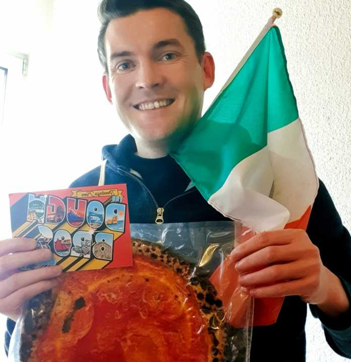 Galway Daily food Dough Bros Pizza - a slice for every country in Europe