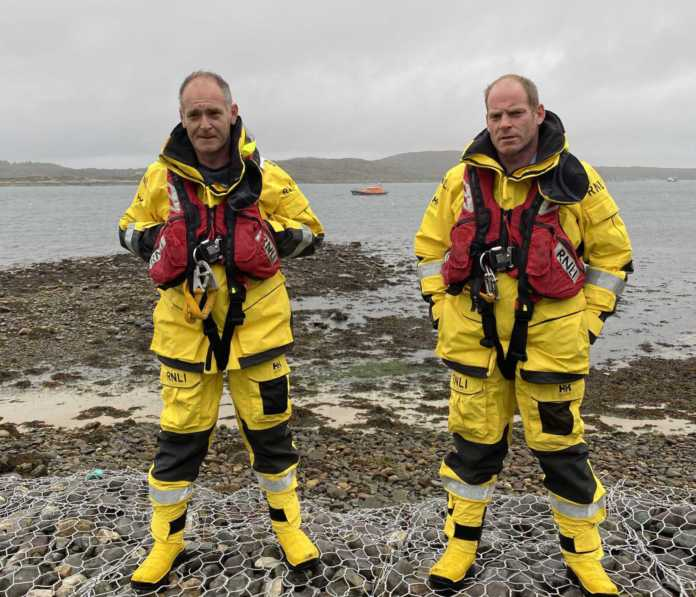 Galway Daily news Clifden brothers on the front line as paramedics and RNLI lifeboat volunteers