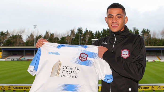 Galway Daily soccer Mikey Place signs new contract with Galway United