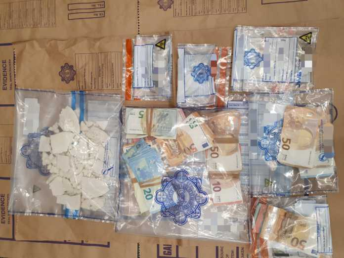 Galway Daily news Gardaí seize €38,500 worth of drugs and cash in Galway City