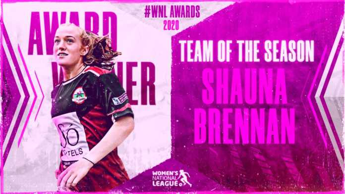 Galway Daily sport Galway's Shauna Brennan makes Women's National League team of the season