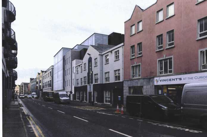Galway Daily news Plans are back before the city council for the second time for a multi-million office development in the city centre.