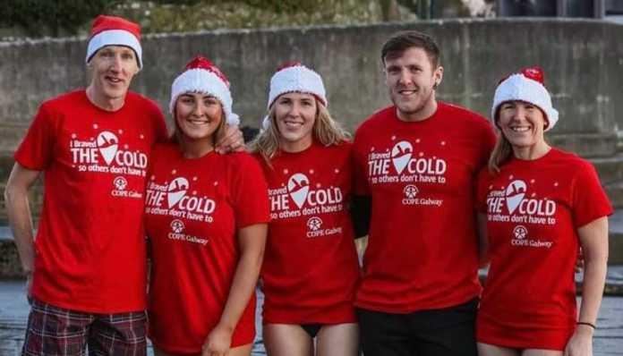 galway daily christmas day swim 10-day swim charity