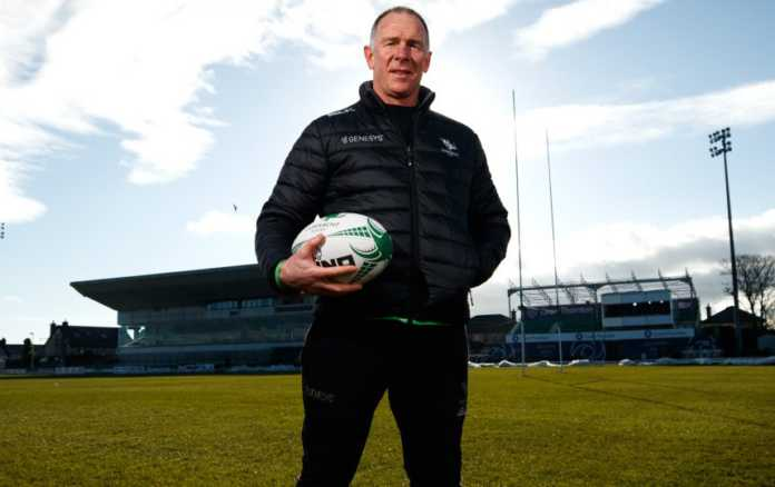 Andy Friend signs on for two more years with Connacht Rugby