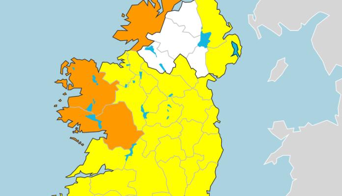 galway daily news weather warning galway status orange