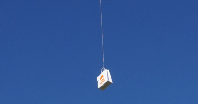 galway daily news drone just eat takeaway oranmore