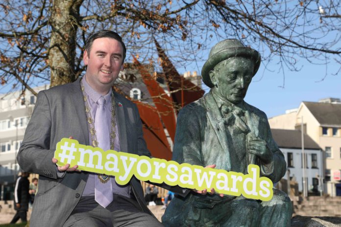 galway daily news mayors awards cllr mike cubbard