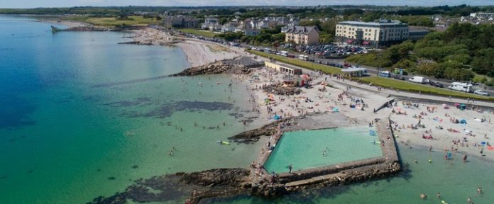 galway daily salthill tidal pool news galway city council