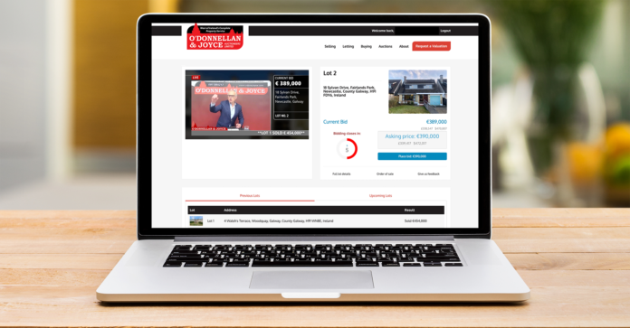 Galway Daily property Dramatic 90% success rate at first virtual auction of 2021