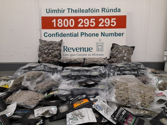 Galway Daily news Galway among destinations for €108,000 of cannabis seized at mail centre