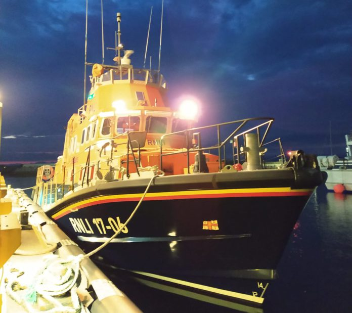 Galway Daily news Aran Islands lifeboat performs late night medical evacuation