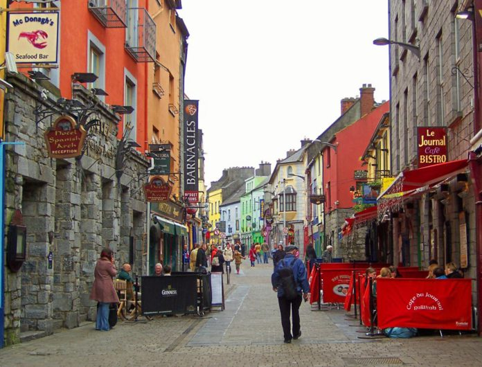 galway daily news quay street tables and chairs licences fees waived galway city council