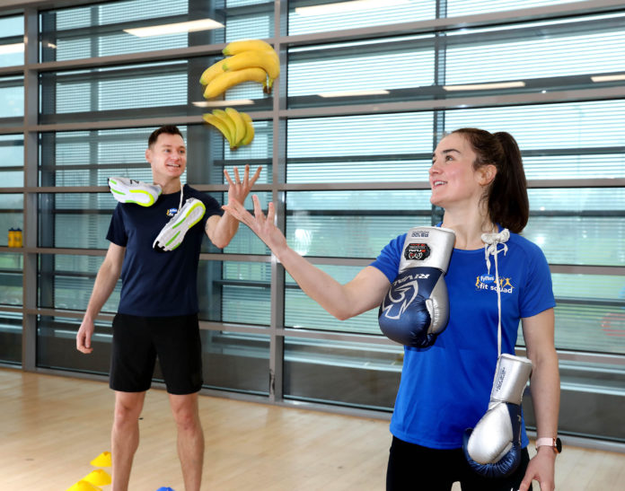galway daily news fyffes sports stars visit galway schools