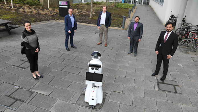 Galway Daily news 'It's-a-Me!' - Social robot 'Mario' helping children in hospital keep in touch with family