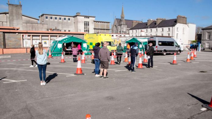 Galway Daily news COVID-19: Almost 700 tested at Ballinasloe pop-up centre over Easter weekend