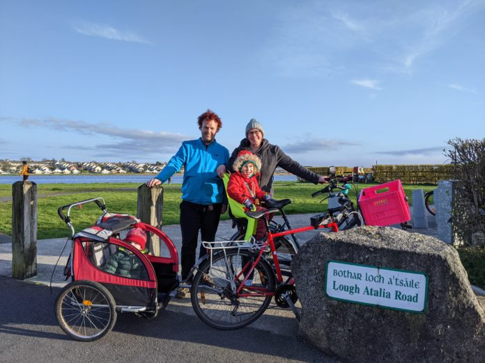 galway daily news galway cycling campaign #galwaybybike project cycling in galway