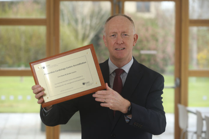 galway daily news neil johnson ceo crói heart and stroke charity galway award