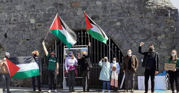 galway daily news palestine protest galway city