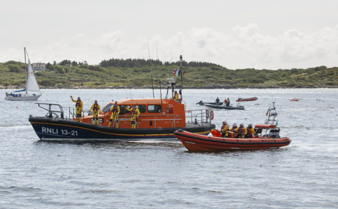 Galway Daily news Clifden RNLI aids local boat in rescue of four kayakers