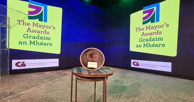 Galway Daily news Mayor's Awards winners