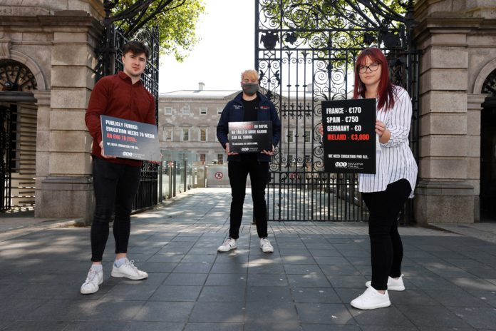 galway daily news nuig students' union contribution fees