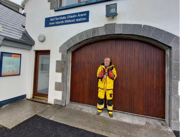 Galway Daily news RNLI volunteer Johnny Mulkerrin retires after 35 years of service