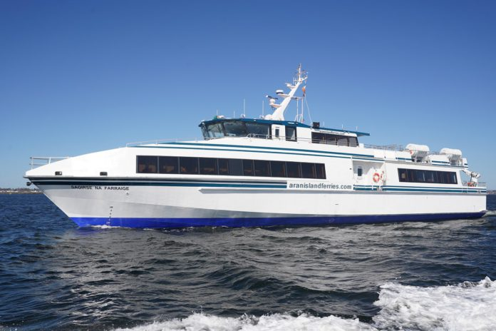 Galway Daily news Ship Ahoy for Aran Island Ferries' new tour route