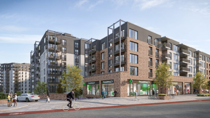 Galway Daily news Planning application made for 345 apartments in Crown Square project