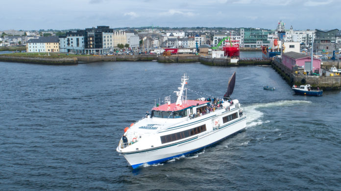 Galway Daily tourism Summer ferry cruise to Inis Mór & Cliffs of Moher extended